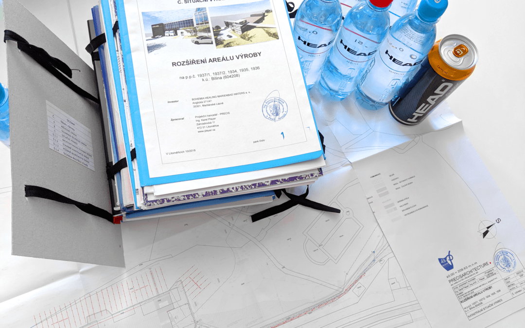 Building permit for the new production hall of the HEAD bottler