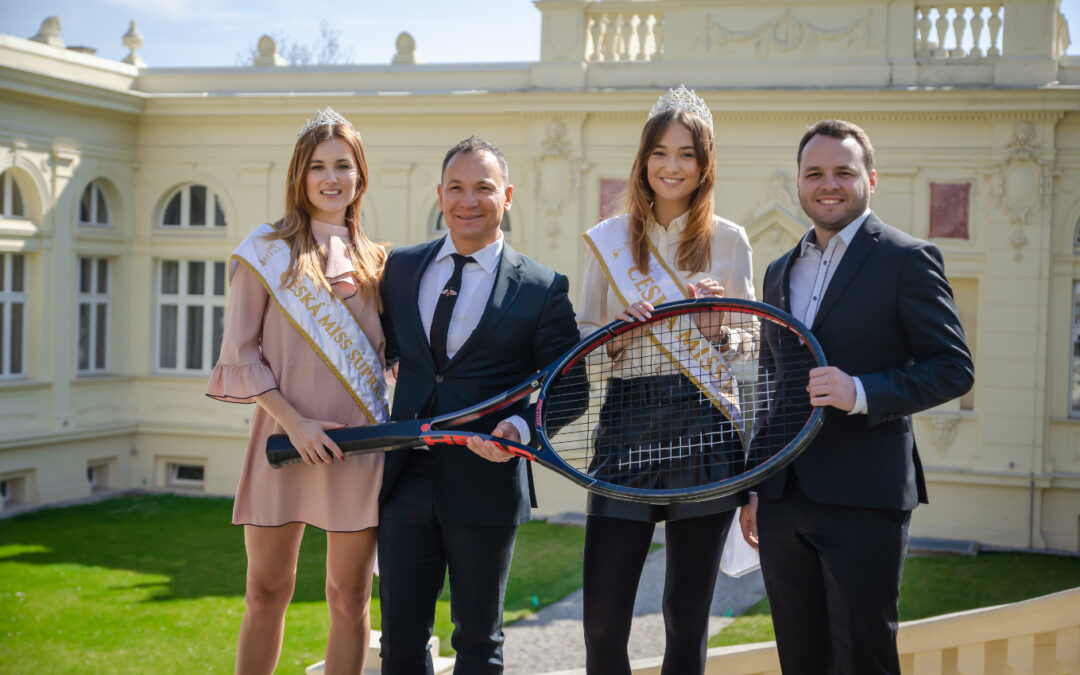 Official partnership with Miss Czech Republic